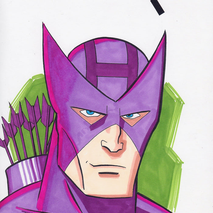 HAWKEYE Original Art by ANDY POTTER