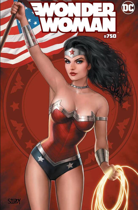 WONDER WOMAN #750 COMICS ELITE NATHAN SZERDY EXCL. CVR A