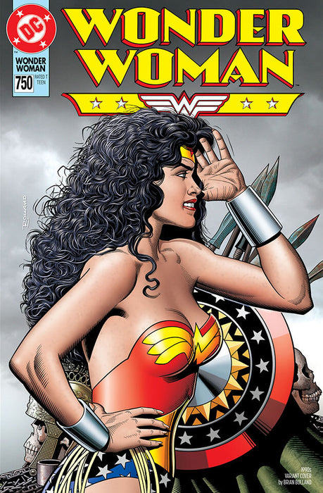 WONDER WOMAN #750 1990 BRIAN BOLLAND VAR