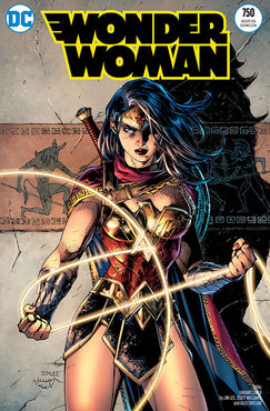 WONDER WOMAN #750 2010 JIM LEE VAR