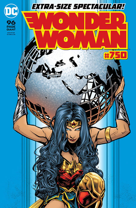 WONDER WOMAN #750 REGULAR CVR