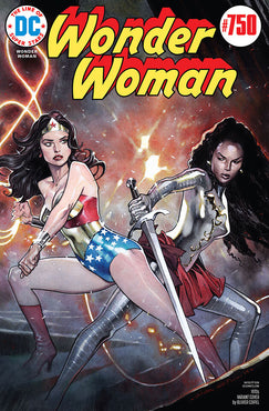 WONDER WOMAN #750 1970 OLIVIER COIPEL VAR