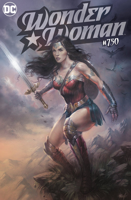 WONDER WOMAN #750 LUCIO PARRILLO TD VARIANT