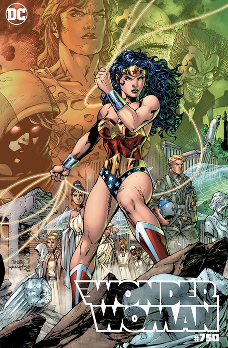 WONDER WOMAN #750 JIM LEE CONNECTING COLOR CVR C