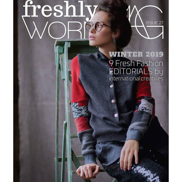 Freshy Worn Mag - Front Cover Feature January 2019