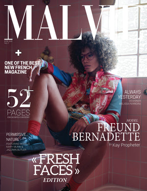 Malvie Magazine June 2020 - Adhesif Clothing FRONT COVER FEATURE