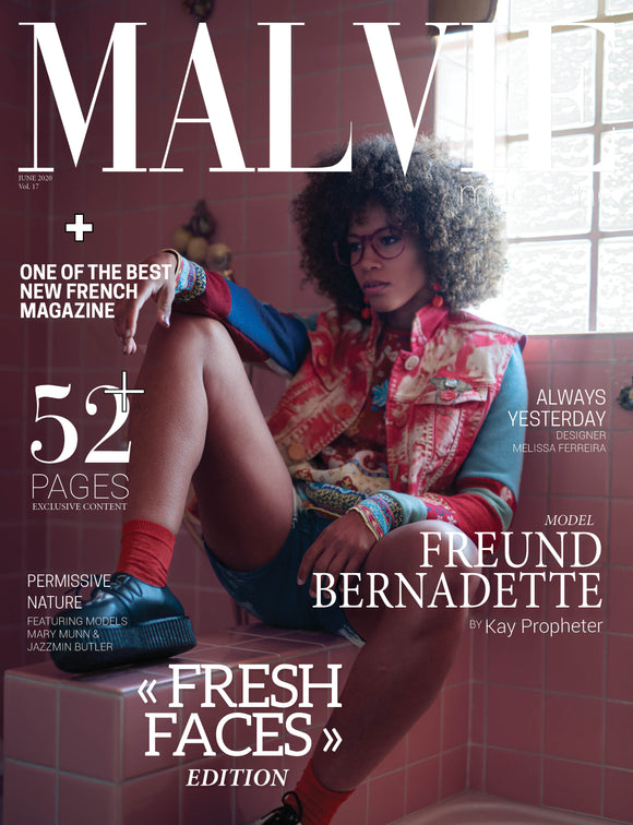 Malvie Magazine June 2020 - Always Yesterday FRONT COVER FEATURE