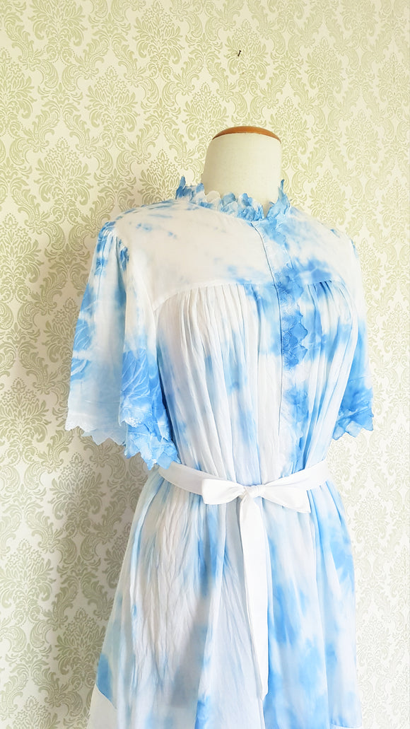 Blue Skies Tie Dye Dress