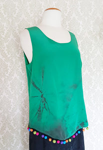 Emerald Dream Tie Dye Blouse