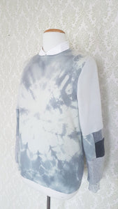 Fluffy Clouds Tie Dye Pullover