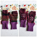 Fingerless Mittens - Many Color Options