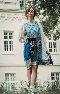 See the Sea Patchwork Dress