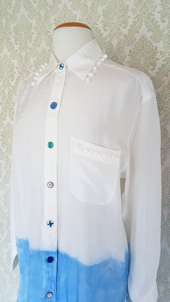 Indigo Girl Dress Shirt