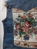 Rerocked Denim Vest
