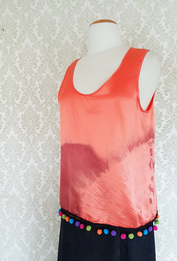 Tropic Sunset Tie Dye Blouse