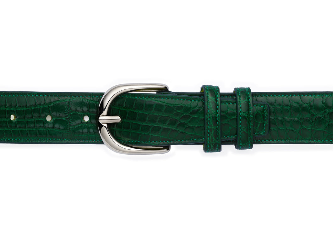 BELT - FULL CROCO - BI COLOR