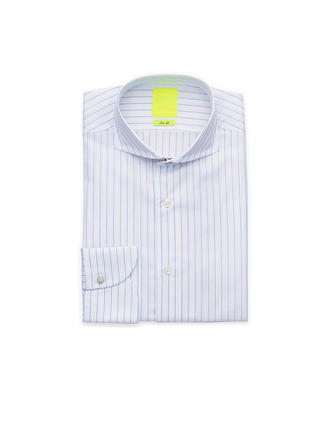 SUMMER TRAVELLER STRIPED SHIRT - JOURNEY COTTON LINEN