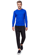 Load image into Gallery viewer, CASHMERE SWEATER 3D EFFECT ROYAL BLUE