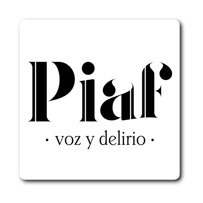 Logo Piaf | Sticker