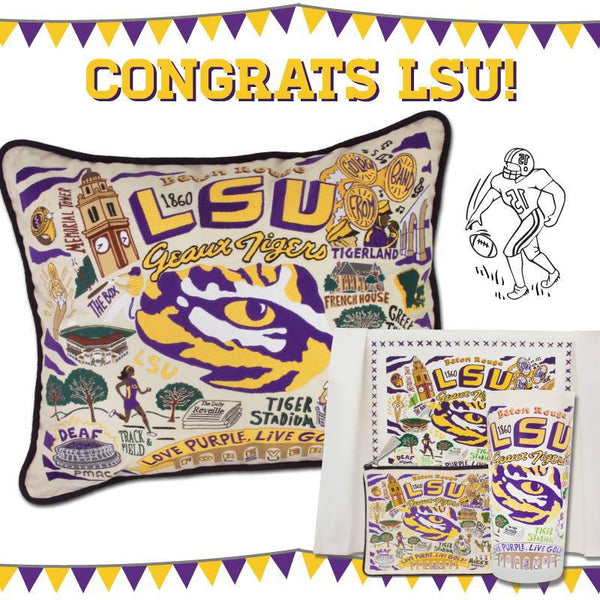 Congratulations LSU on the BIG win!