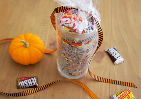 Try It Tuesday: Halloween Candy Glass Gift