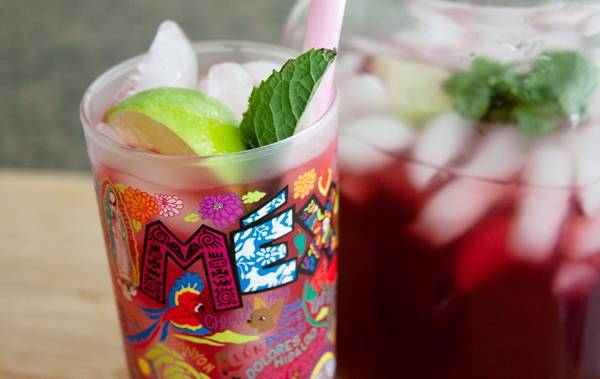 Try It Tuesday: Hibiscus Mint Iced Tea Sparkler