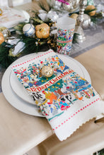 Load image into Gallery viewer, 12 Days of Christmas Dish Towel - catstudio