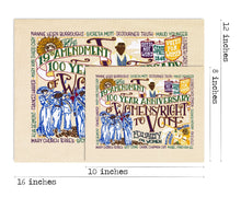Load image into Gallery viewer, 19th Amendment Fine Art Print Art Print catstudio