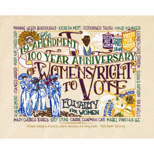 19th Amendment Fine Art Print Art Print catstudio 8