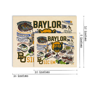 Baylor University Collegiate Fine Art Print - catstudio