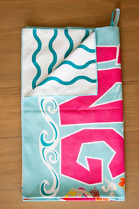 California Surf Beach & Travel Towel