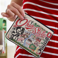 Load image into Gallery viewer, Ohio State University Collegiate Zip Pouch - catstudio