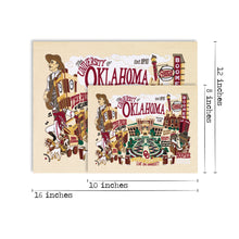 Load image into Gallery viewer, Oklahoma, University of Collegiate Fine Art Print - catstudio