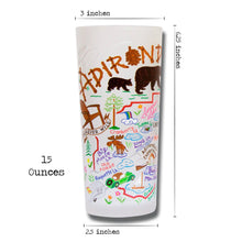 Load image into Gallery viewer, Adirondacks Drinking Glass - catstudio