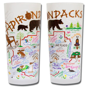 Adirondacks Drinking Glass - catstudio