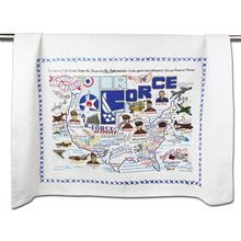 Load image into Gallery viewer, Air Force Dish Towel - catstudio