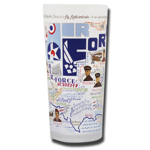 Air Force Drinking Glass - catstudio