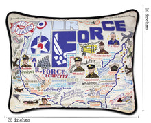 Load image into Gallery viewer, Air Force Printed Pillow - catstudio