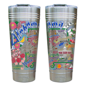 Alabama Thermal Tumbler (Set of 4) - PREORDER Thermal Tumbler catstudio