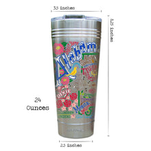 Load image into Gallery viewer, Alabama Thermal Tumbler (Set of 4) - PREORDER Thermal Tumbler catstudio