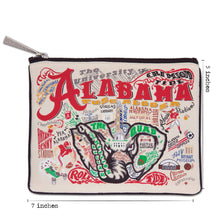 Load image into Gallery viewer, Alabama, University of Collegiate Zip Pouch - catstudio