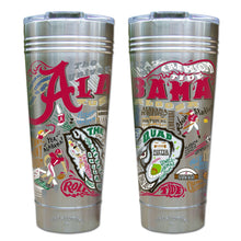 Load image into Gallery viewer, Alabama, University of Collegiate Thermal Tumbler (Set of 4) - PREORDER Thermal Tumbler catstudio