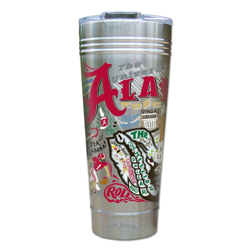 Alabama, University of Collegiate Thermal Tumbler (Set of 4) - PREORDER Thermal Tumbler catstudio