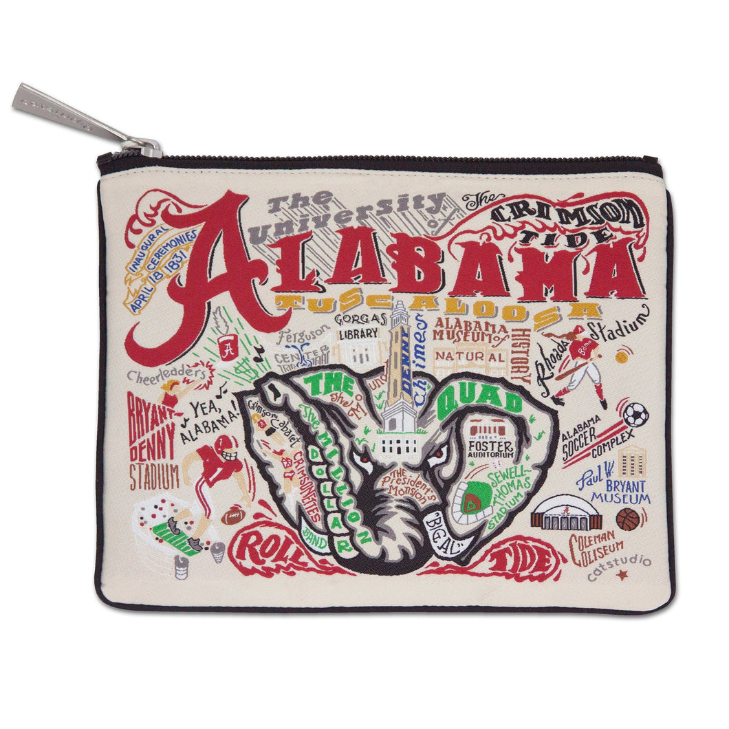 Alabama, University of Collegiate Zip Pouch - catstudio