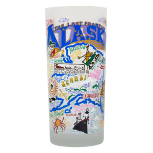 Alaska Drinking Glass - catstudio