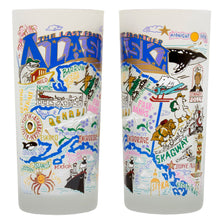 Load image into Gallery viewer, Alaska Drinking Glass - catstudio