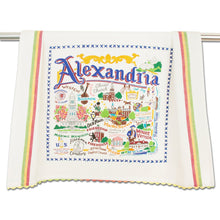 Load image into Gallery viewer, Alexandria Dish Towel - catstudio