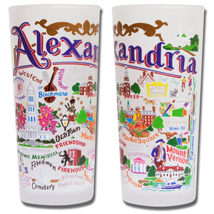 Alexandria Drinking Glass - catstudio