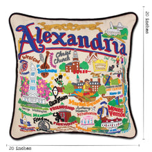 Load image into Gallery viewer, Alexandria Hand-Embroidered Pillow - catstudio