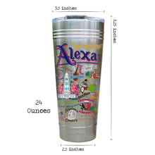 Load image into Gallery viewer, Alexandria Thermal Tumbler (Set of 4) - PREORDER Thermal Tumbler catstudio
